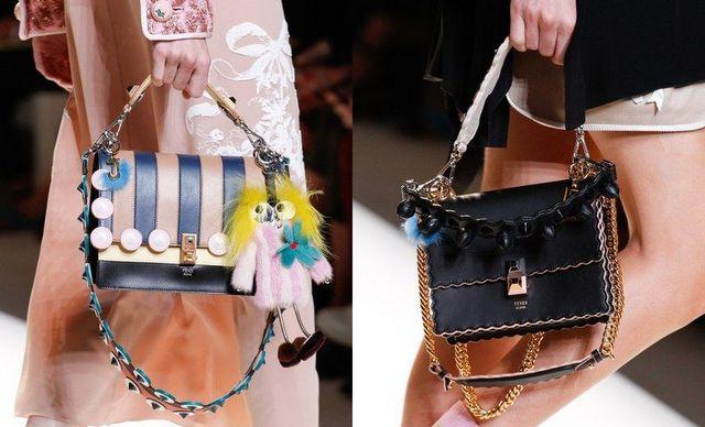 Genti dama cu manere scurte la moda primavara vara 2017