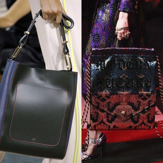 Genti mari pentru femei, la moda in sezonul primavara vara 2017