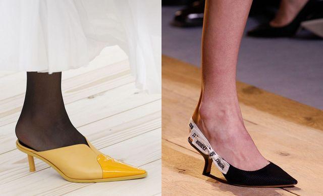 Pantofi cu toc mic
