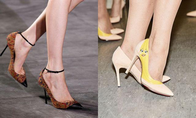 Pantofi dama cu toc subtire