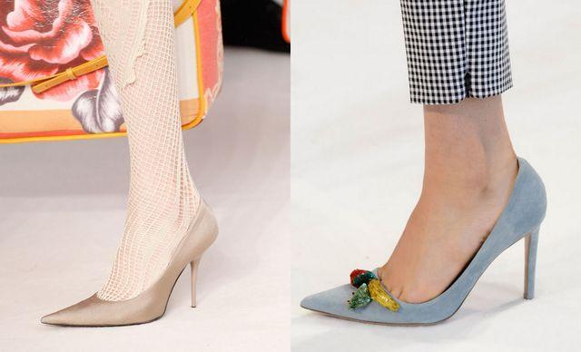 Pantofi de ocazie cu toc stiletto