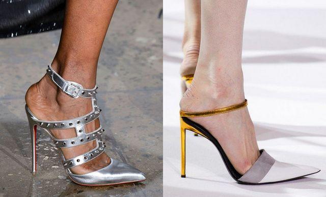 Pantofi dama pentru ocazie cu toc inalt