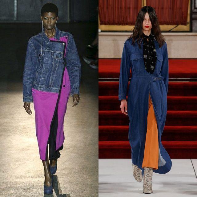 Pardesiu de blugi la moda primavara