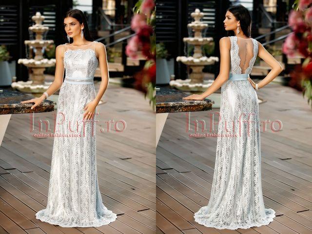 Rochie de seara eleganta cu spatele gol