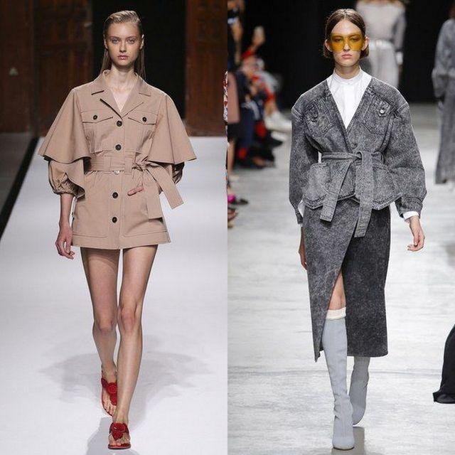 Trench dama la moda primavara vara 2017