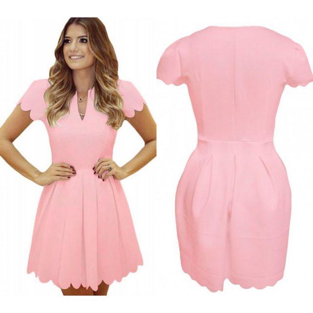 Rochie roz pentru domnisoare de onoare