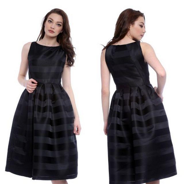 Rochie eleganta neagra ieftina