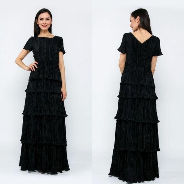 Rochii negre elegante si lungi