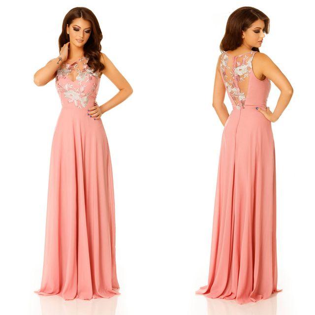 Rochie roz eleganta