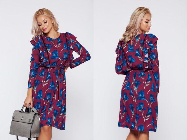 Rochie de zi cu lungime midi