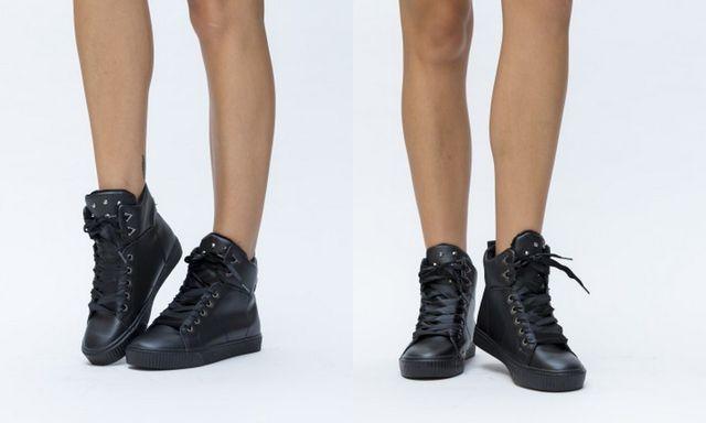 Pantofi sport gheata cu siret pentru toamna