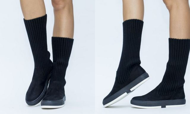 Pantofi sport de tip soseta, pentru toamna