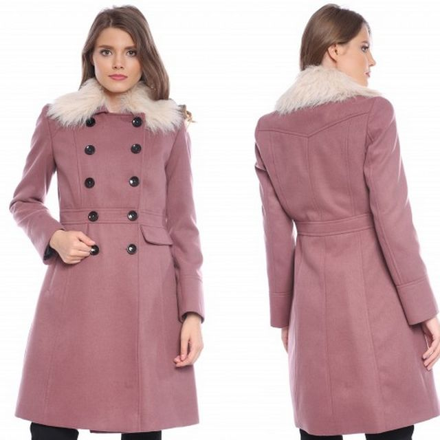 Palton dama cu blanita