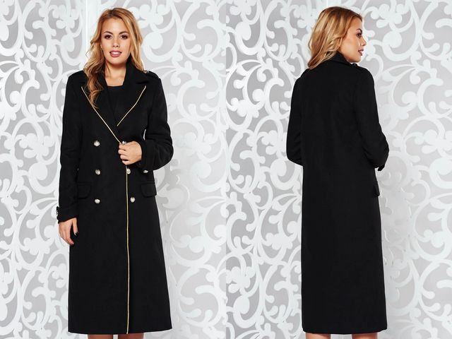 Paltoane dama marimi mari la moda in 2018/2019