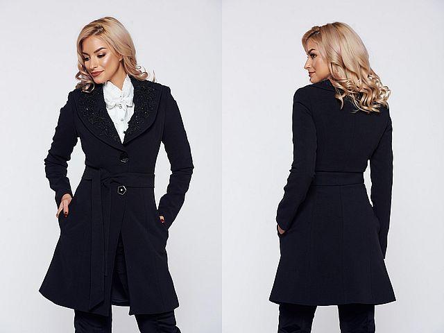 Paltoane dama negre