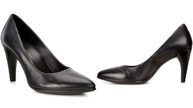 Pantofi de piele cu toc