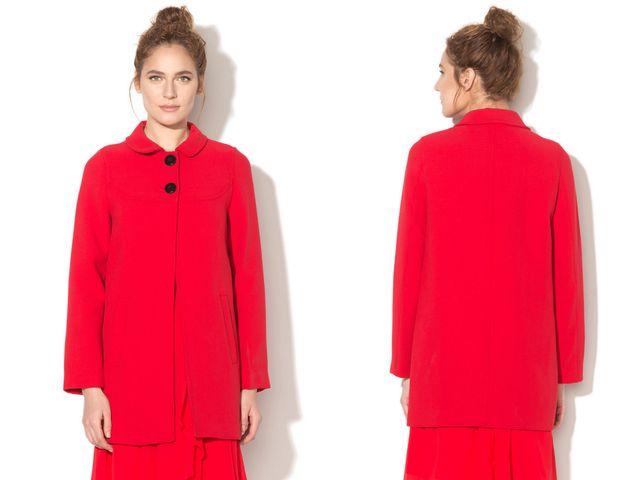 Paltoane dama rosii