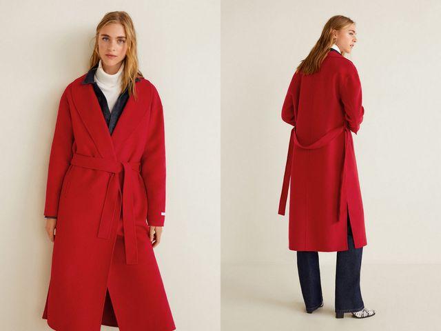 Paltoane dama rosii la moda