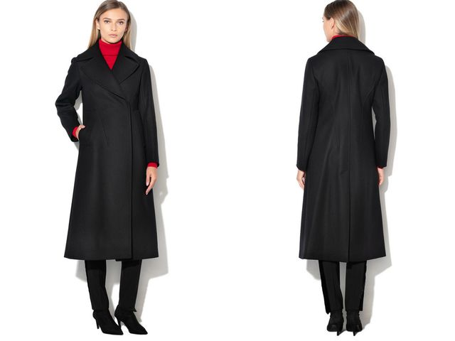 Palton dama cambrat la moda