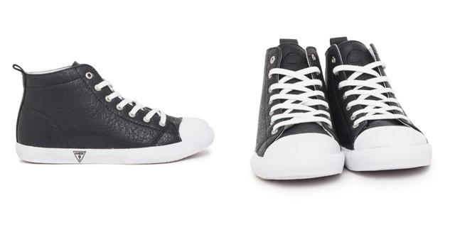 Pantofi sport negrii stil gheata