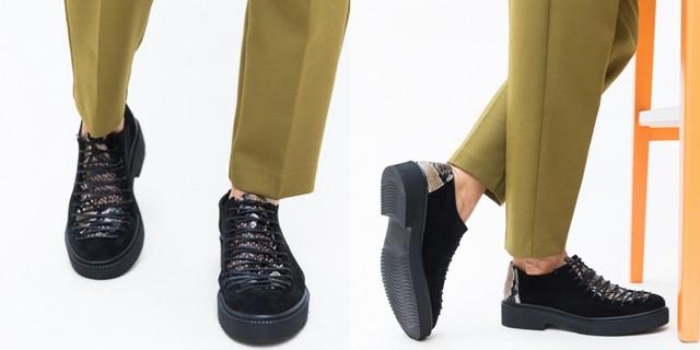 Pantofi sport negri de toamna